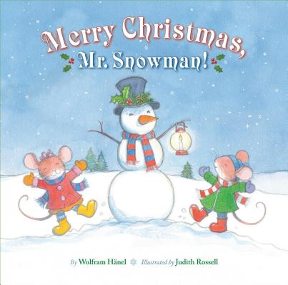 Merry Christmas, Mr. Snowman! Cover