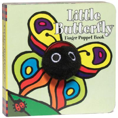 Little Butterfly: Finger Puppet Book: (Finger Puppet Book for Toddlers and Babies, Baby Books for First Year, Animal Finger Puppets) (Little Finger Puppet Board Books) Cover Image