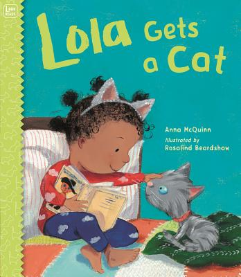 Cover for Lola Gets a Cat (Lola Reads #5)