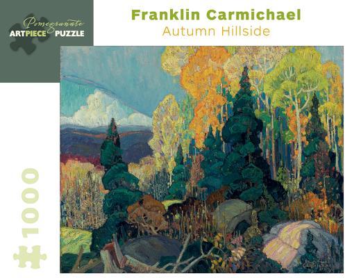 Franklin Carmichael: Autumn Hillside 1,000-Piece Jigsaw Puzzle (Pomegranate Artpiece Puzzle) Cover Image