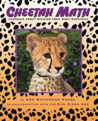 Cheetah Math: Learning About Division from Baby Cheetahs (Animal Math) Cover Image