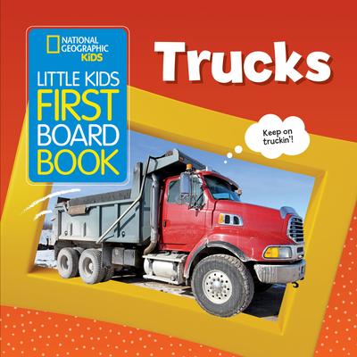 Little Kids First Board Book: Trucks (First Board Books) Cover Image