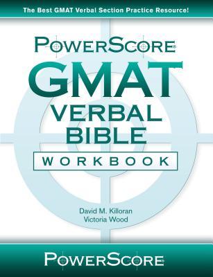Powerscore GMAT Verbal Bible Workbook Cover Image