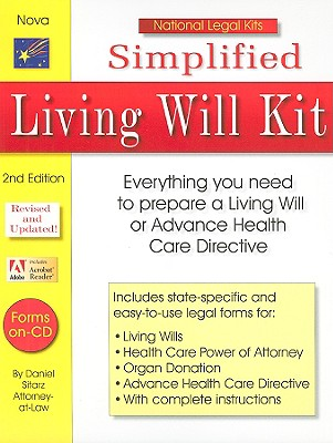 Simplified Living Will Kit with CDROM Cover Image