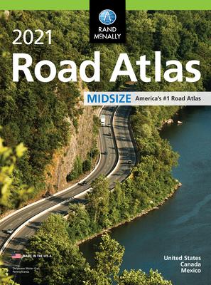 Rand McNally 2021 Midsize Road Atlas Cover Image