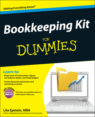 Bookkeeping Kit for Dummies [With CDROM] Cover