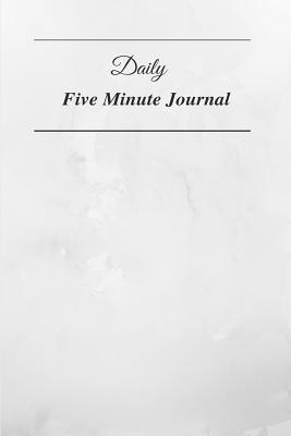 Daily Five Minute Journal Cover Image