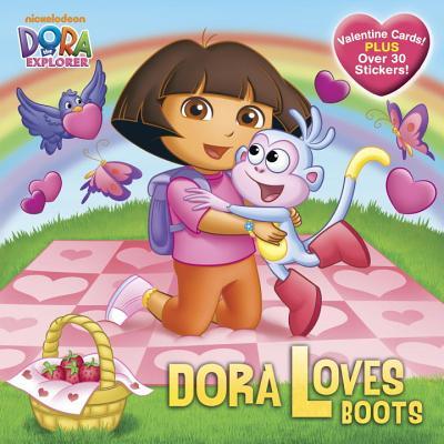 Dora Loves Boots (Dora the Explorer) (Pictureback(R)) Cover Image