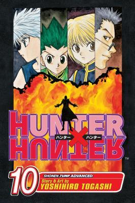 Hunter x Hunter, Vol. 10 Cover Image