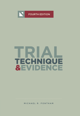 Trial Technique and Evidence: Trial Tactics and Sponsorship Strategies Cover Image