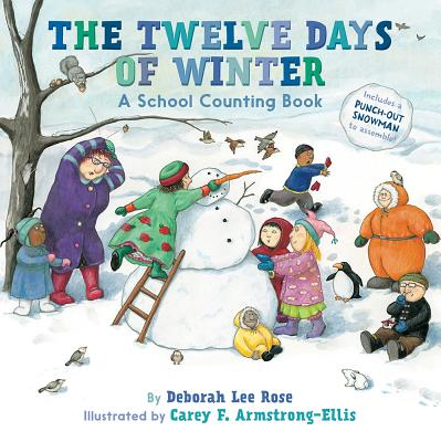 The Twelve Days of Winter: A School Counting Book Cover Image