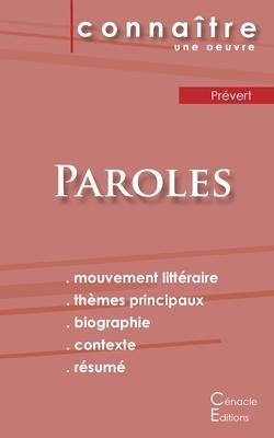 Fiche de lecture Paroles de Prévert (Analyse littéraire de référence et résumé complet) Cover Image