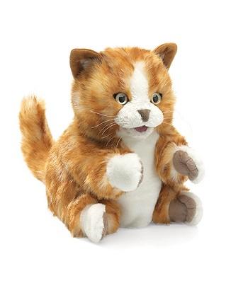 Orange Tabby Kitten Puppet Cover Image