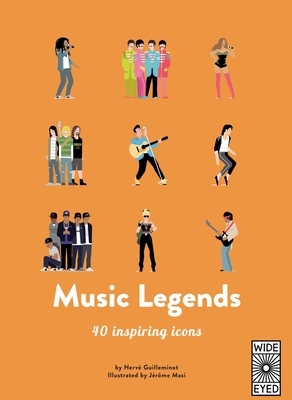 40 Inspiring Icons: Music Legends: Meet 40 pop and rock stars Cover Image