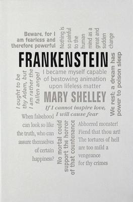 Frankenstein (Word Cloud Classics) Cover Image