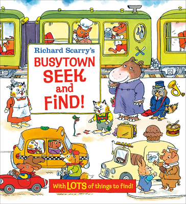 Richard Scarry's Busytown Seek and Find! Cover Image