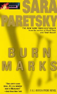 Burn Marks: A V. I. Warshawski Novel Cover Image