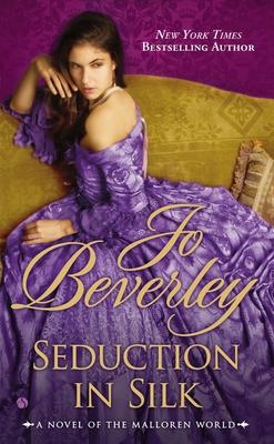Cover for Seduction in Silk (A Mallorean Novel #13)