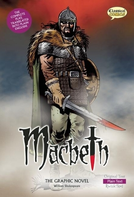 Macbeth: The Graphic Novel: Plain Text (Classical Comics) Cover Image