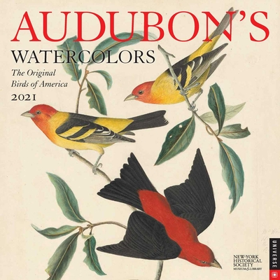 Audubon's Watercolors 2021 Wall Calendar: The Original Birds of America Cover Image