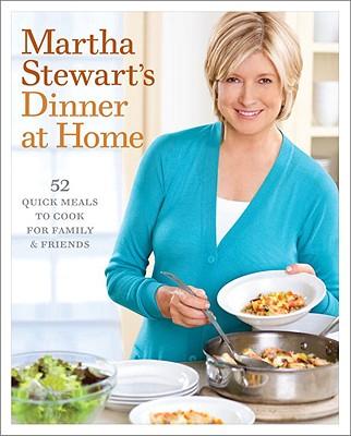 Martha Stewart's Dinner at Home Cover