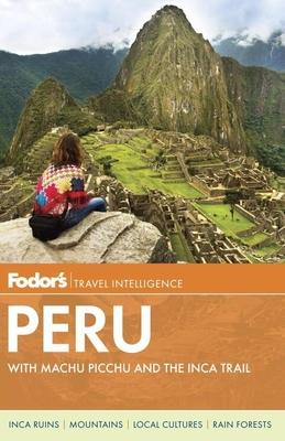 Fodor's Peru Cover
