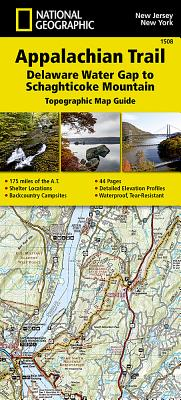 Appalachian Trail, Delaware Water Gap to Schaghticoke Mountain [New Jersey, New York] Cover Image