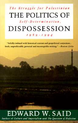 The Politics of Dispossession Cover