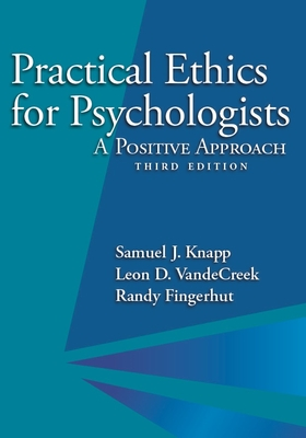 Practical Ethics for Psychologists: A Positive Approach Cover Image