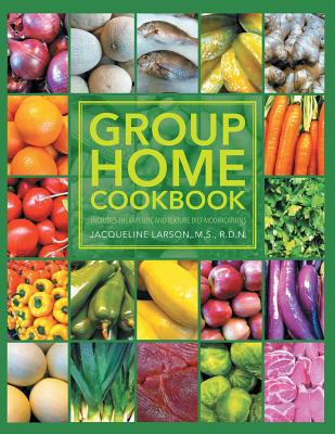 Group Home Cookbook Cover Image