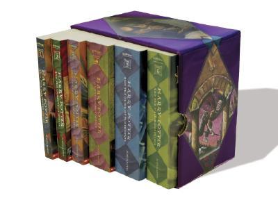 Harry Potter Boxset Pb 1-6 Cover Image