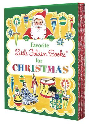 Favorite Little Golden Books for Christmas Cover Image