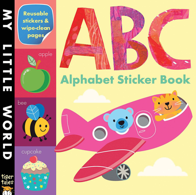 ABC Alphabet Sticker Book (My Little World) Cover Image