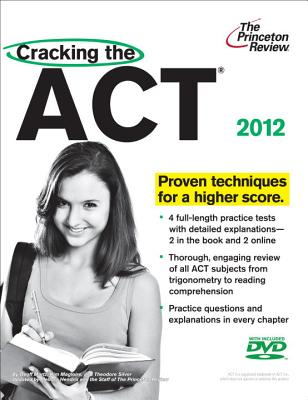Cracking the ACT with DVD, 2012 Edition Cover