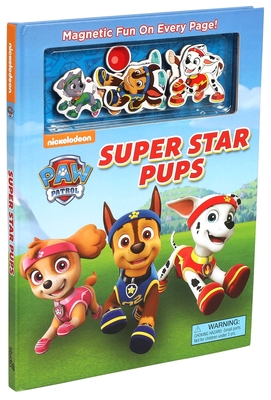 Nickelodeon PAW Patrol: Super Star Pups (Magnetic Hardcover) Cover Image