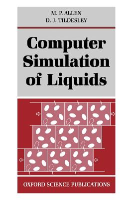 Cover for Computer Simulation of Liquids