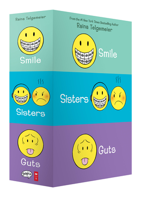 Smile, Sisters, and Guts: The Box Set Cover Image