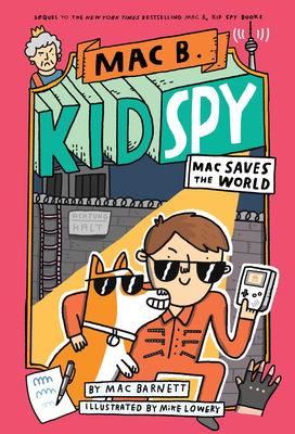 Mac B., Kid Spy #6 Cover Image
