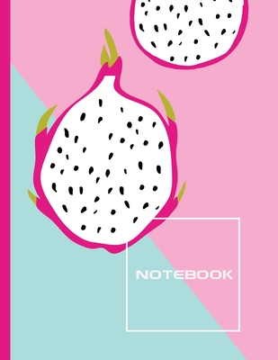 Notebook: Lined Journal - Stylish Fruit - 120 Pages - Large 8.5 x 11 inches - Composition Book Paper - Minimalist Design for Wom Cover Image