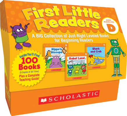 First Little Readers: Guided Reading Level D (Classroom Set): A BIG Collection of Just-Right Leveled Books for Beginning Readers Cover Image