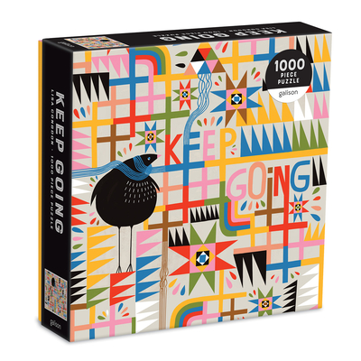 Keep Going 1000 Piece Puzzle in Square Box Cover Image