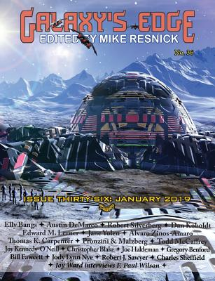 Galaxy's Edge Magazine: Issue 36, January 2019 Cover Image