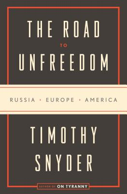 Cover for The Road to Unfreedom