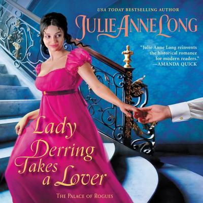 Lady Derring Takes a Lover Lib/E: The Palace of Rogues Cover Image