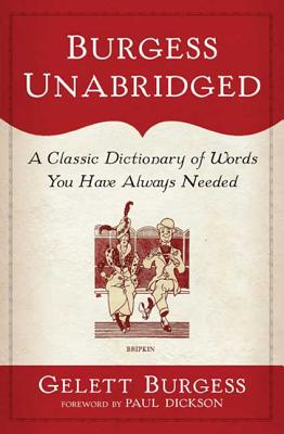 Burgess Unabridged Cover