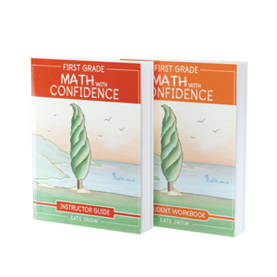 First Grade Math with Confidence Bundle: Instructor Guide & Student Workbook Cover Image