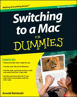 Switching to a Mac for Dummies Cover