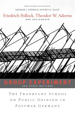 Group Experiment and Other Writings Cover