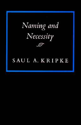 Naming and Necessity Cover