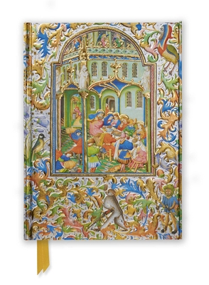 Illuminated Manuscript Marriage Feast at Cana (Foiled Journal) (Flame Tree Notebooks #35) Cover Image
